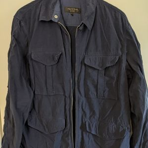 Rag and bone field jacket, navy, XL 44